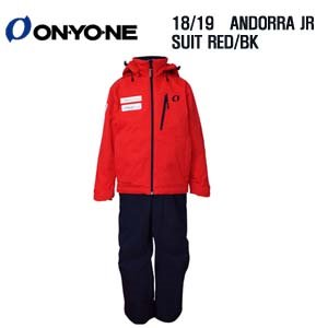 1819시즌 (아동/주니어용) ONYONE ANDORA TEAM JR RED/BLACKL