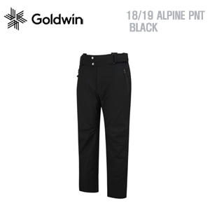 1819시즌 GOLDWIN ALPINE PANTS BLK