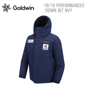 1819시즌 GOLDWIN 자켓 PERFORMANCE2 DOWN JKT NAV