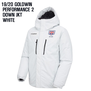 1920시즌 GOLDWIN 자켓 PERFORMANCE2 DOWN JKT WH