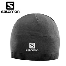 17/18시즌 SALOMON 비니 SALOMON BEANIE BLACK