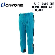 1819 시즌 ONYONE ONP 91052 DEMO OUTER PANTS TURQUOISE/BLK