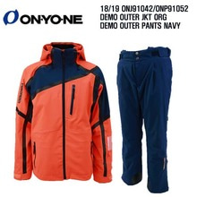 1819 시즌 ONYONE ONJ 91042 DEMO OUTER JKT F ORG+ONP 91052 DEMO PANTS NAVY