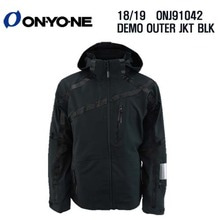 1819 시즌 ONYONE ONJ 91042 DEMO OUTER JKT BLACK