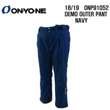1819 시즌 ONYONE ONP 91052 DEMO OUTER PANTS NAVY