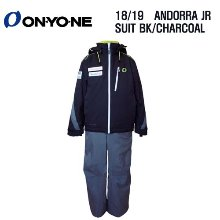 1819시즌 (아동/주니어용) ONYONE ANDORA TEAM JR BLACKLCHARCOAL