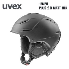 1920시즌 UVEX 헬멧 PLUS 2.0 MATT BLACK