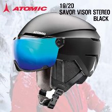 1920시즌ATOMIC 헬멧SAVOR VISOR STERED BLACK