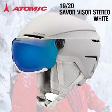 1920시즌ATOMIC 헬멧SAVOR VISOR STERED WHITE